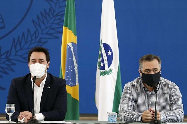 Paraná prorroga toque de recolher, mas suspende medidas contra covid-19 no Ano Novo