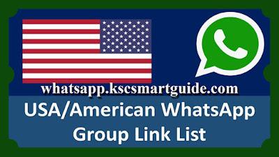 Join USA English Whatsapp Group Links 2021