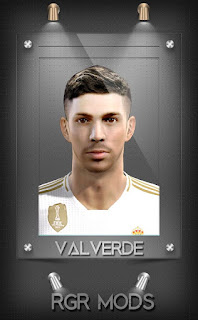PES 2013 Federico Valverde From Real Madrid CF by RGR Mods
