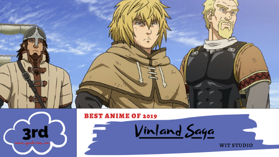 Best Anime of 2019 No. 3 Vinland Saga