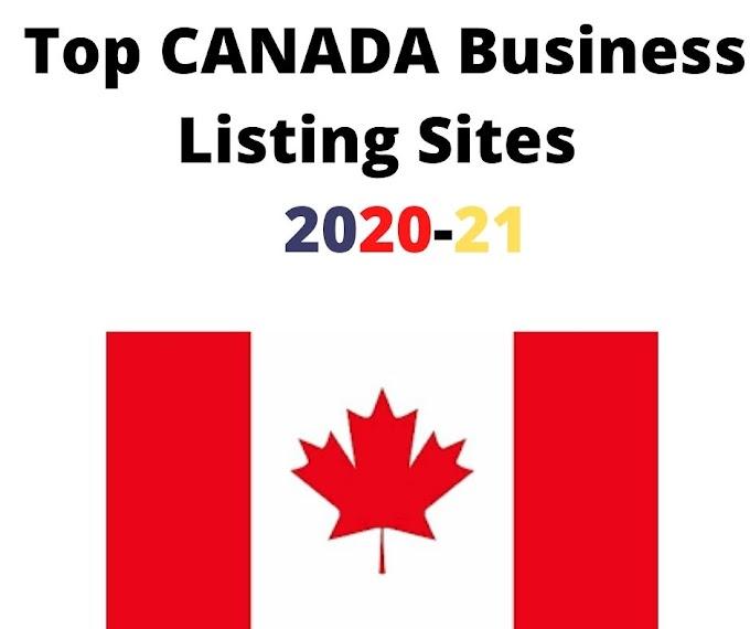 High DA Canada Local Business Listing Sites List