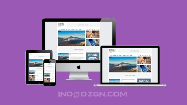 Infinite Responsive Premium Blogger Template
