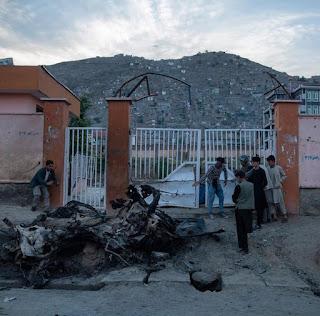 Bomb blast at Kabul