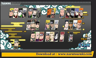Naruto Senki Storm Mod Apk by Aljen