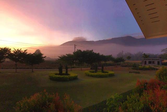 Sunrise at Khao Yai Thailand