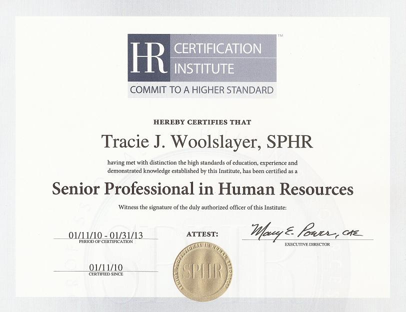 Professional In Human Resources - Professional Human ...
