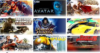 Kumpulan Game HD Mod Android