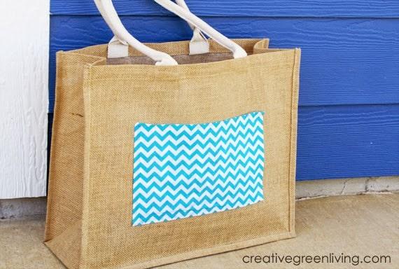 No-sew DIY tote bag