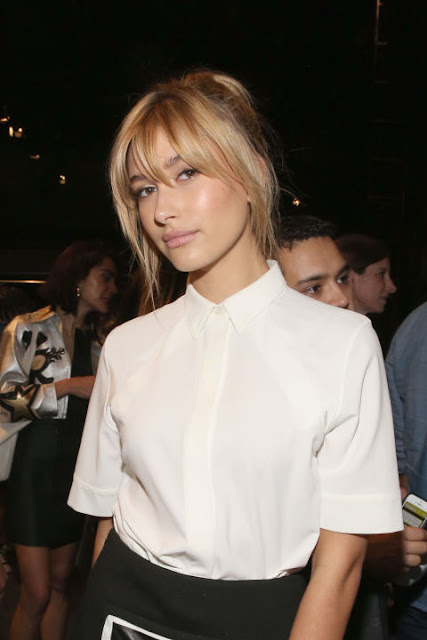 Hailey Baldwin's Breezy Bangs Latest Hairstyle