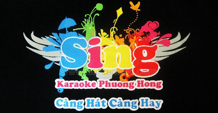 Áo đồng phục quán Karaoke Phượng Hồng, càng hát càng hay