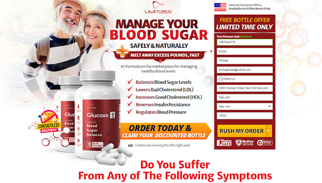 Limitless Glucose 1 Reviews: How Does It Works? Read Latest Price...