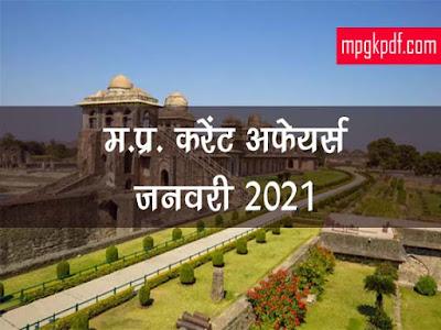MP Current Affairs 2021