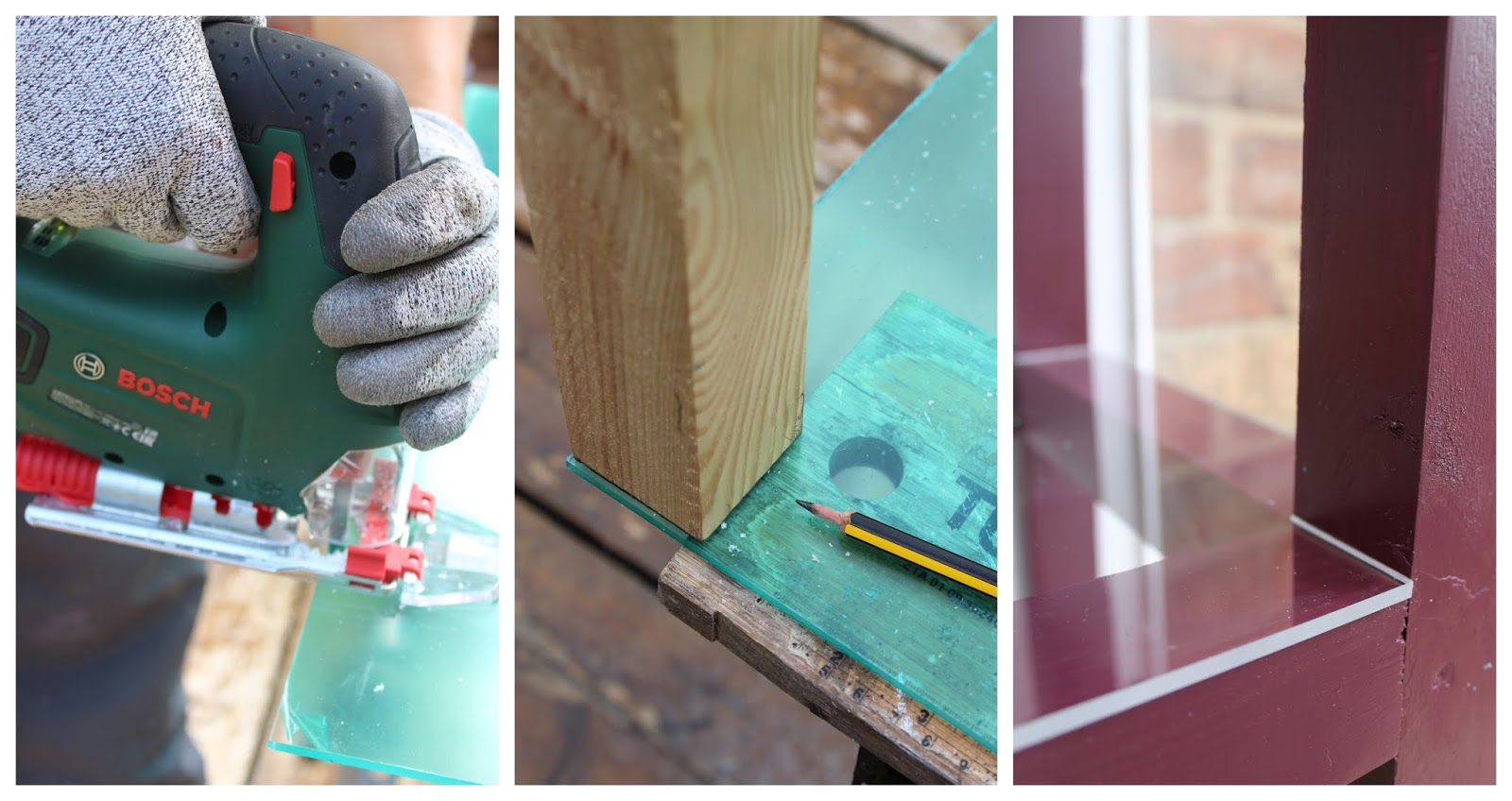 How to Cut Perspex Acrylic with a Jigsaw