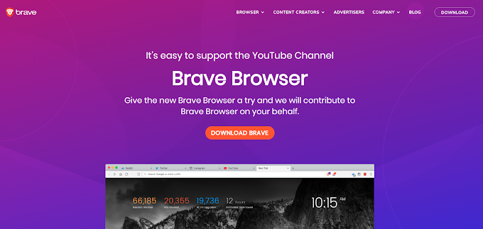 MMO-Vừa lướt web vừa kiếm tiền với trình duyệt web Brave