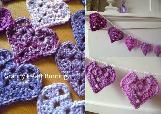 Happy Valentines Day: PICTORIAL PATTERN Granny Heart