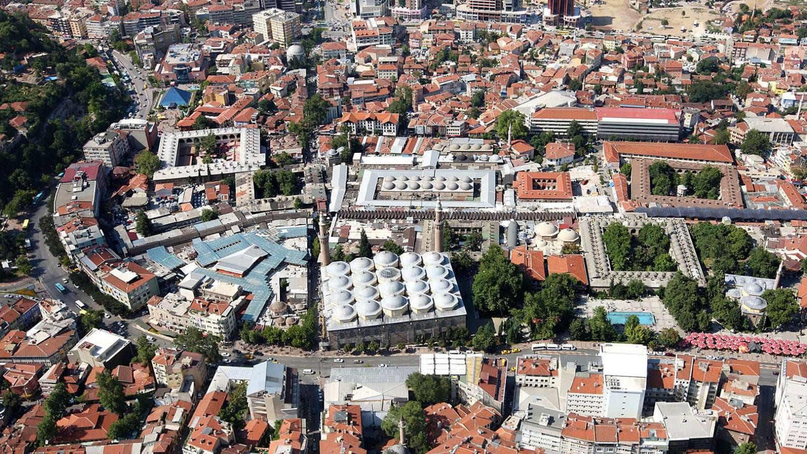 bursa'nın gezilecek tarihi yerleri hanlar bölgesi
