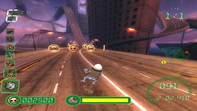 تحميل لعبة سباق الضفدع المجنون Crazy Frog Racer