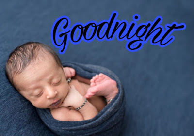 cute baby good night image