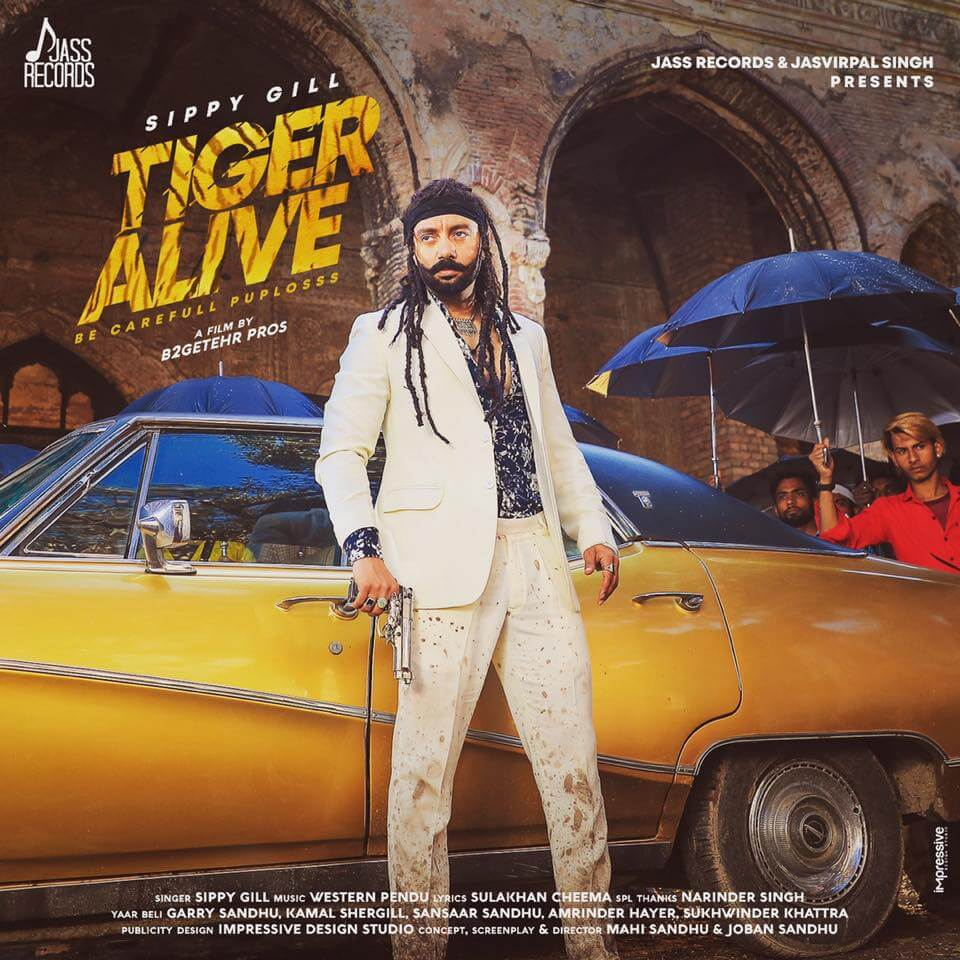 Tiger Alive Lyrics By Sippy GillLyricstak- Lyrics in Hindi