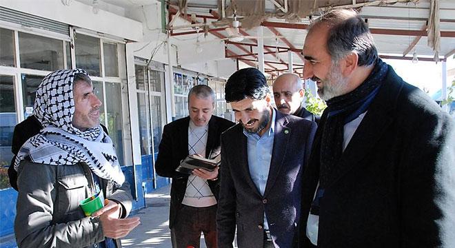 HÜDA PAR Diyarbakır İl Başkanlığından esnaf ziyareti
