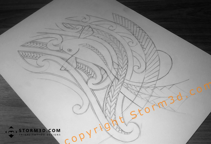 f1ae3c1a1 Maori inspired tattoo designs and tribal tattoos images