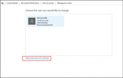 Buat Akun Tamu di Windows 10