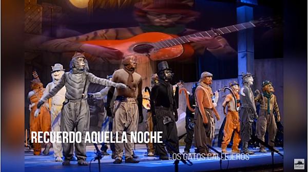 """Pasodoble con Letra """"Recuerdo aquella noche"""". Comparsa """"Los Gatos Callejeros"""" (2013)"""