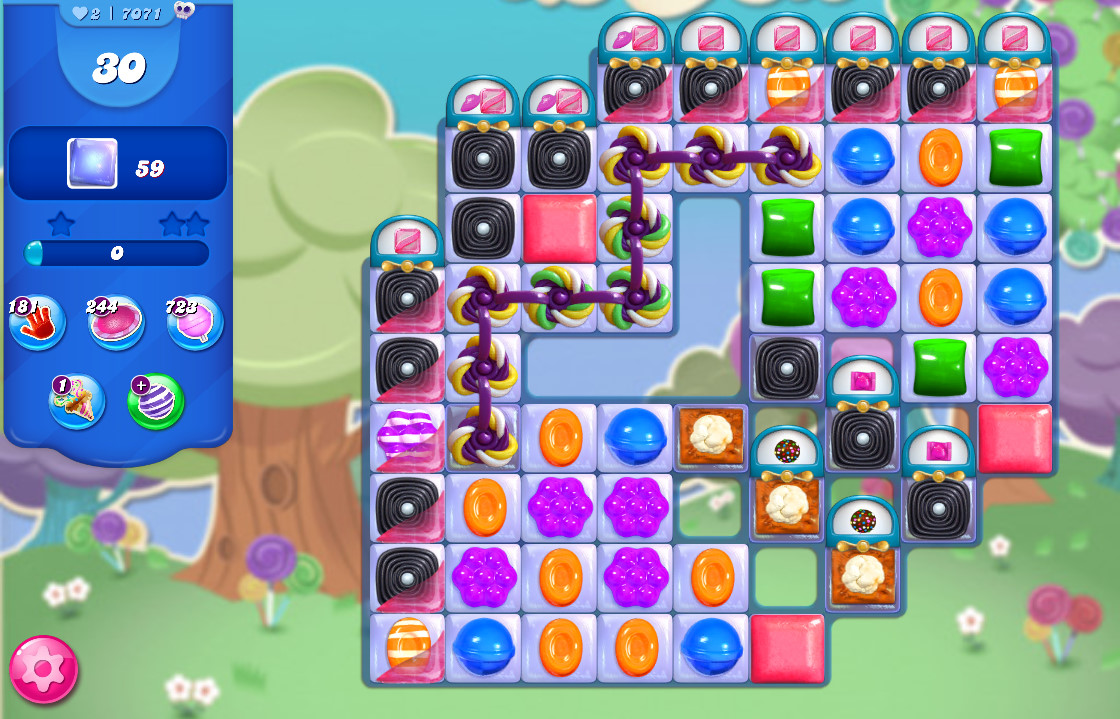 Candy Crush Saga level 7071