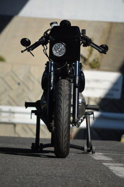 Kawasaki Estrella By An-Bu Hell Kustom