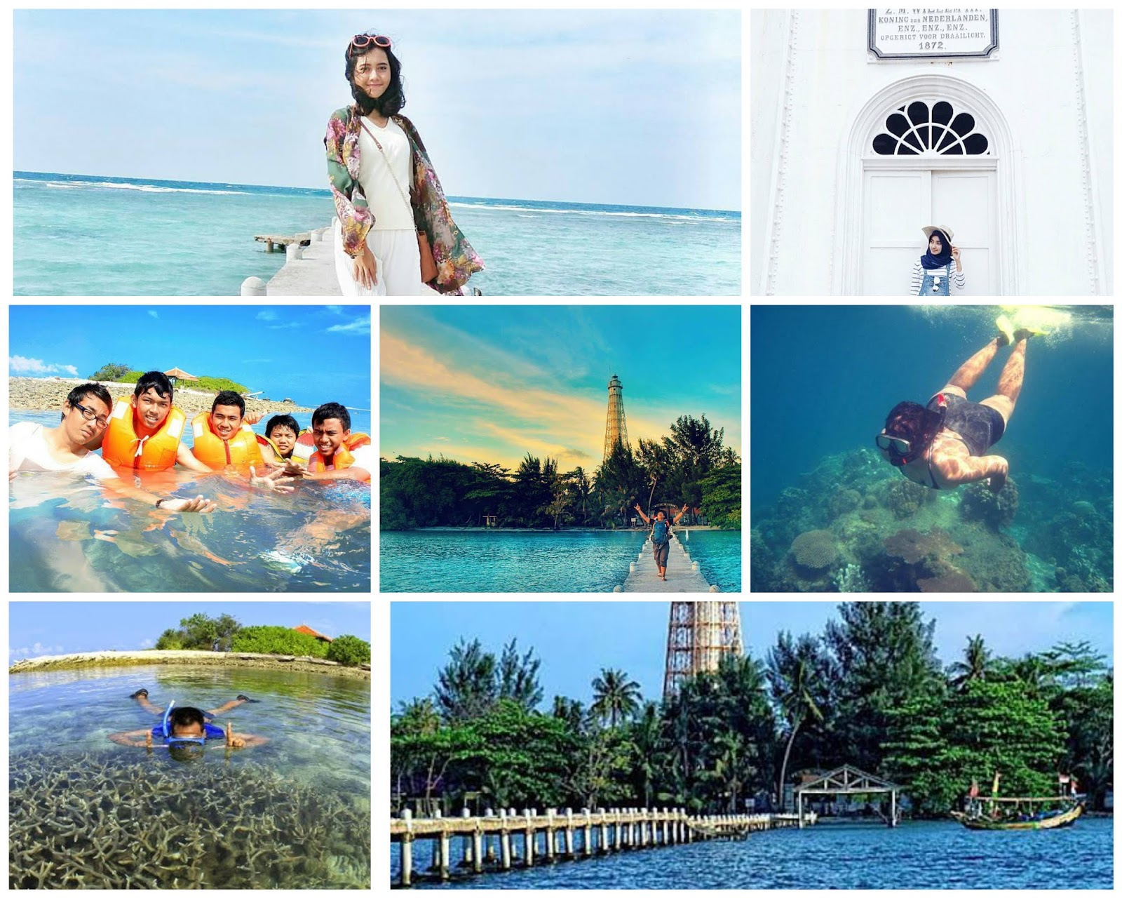Keindahan Pulau biawak Indramayu