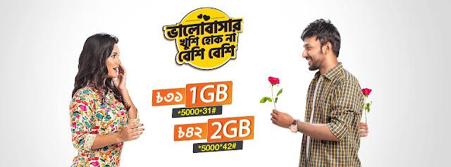 Banglalink 1GB Offer
