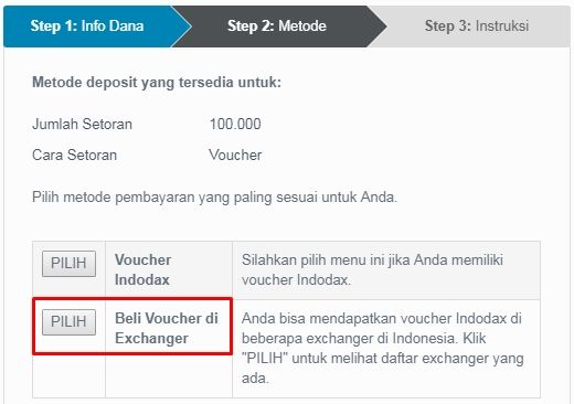Voucher Indodax