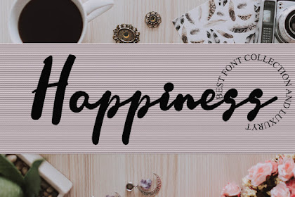 Happines Font - Best Handwriting Font for your Business