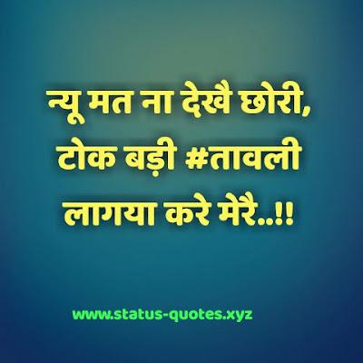 100+ Hariyanvi Status