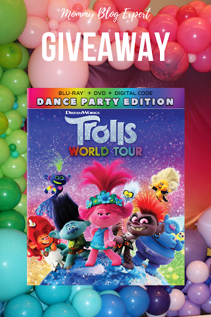 Trolls World Tour Dance Edition Movie Review Giveaway