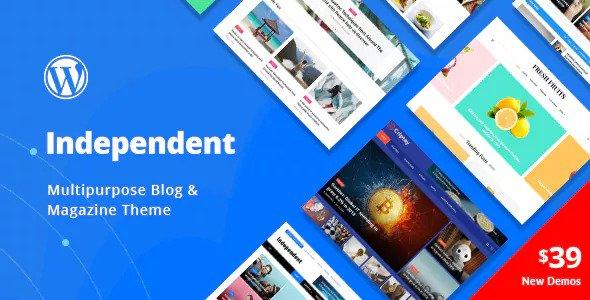 Independent v1.0.4 - Chủ đề Blog & Tạp chí đa năng
