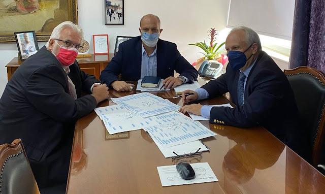 Συνάντηση Ανδριανού με Υφυπουργό και ΓΓ Αγροτικής Ανάπτυξης και Τροφίμων για τα έργα του Αναβάλου