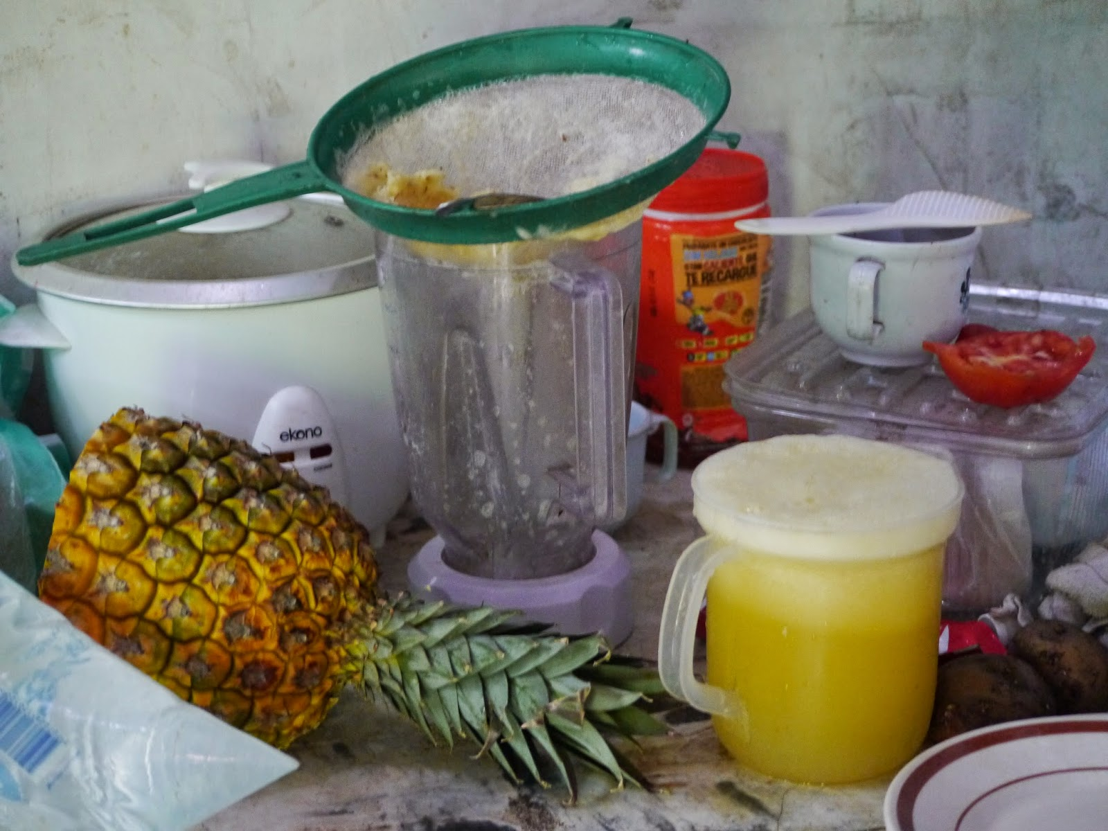 Pineapple juice colombia