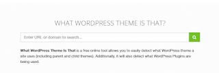 what wordpress theme is that
