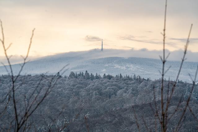Winterwandern in Bad Harzburg | Kleiner und Großer Burgberg und Besinnungsweg | Baumschwebebahn | Wandern im Harz 13