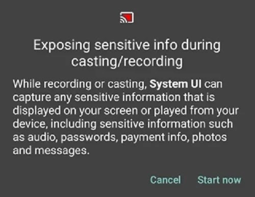 كيفية تمكين مسجل الشاشة المخفي في تحذير Android 10
