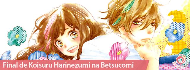 Final do mangá shoujo Koisuru Harinezumi, da autora Nao Hinachi na Betsucomi