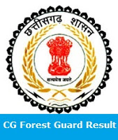 CG Forest Guard Result