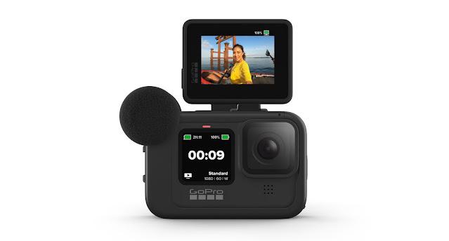 【攝影器材】釋放 GoPro HERO9 Black 運動攝影機完整潛能 - Max Lens Mod 鏡頭組 - Display Mod 的翻轉螢幕設計有助於 Vlogger 影像創作者使用