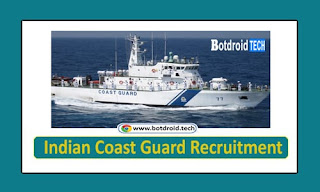 Indian Coast Guard Recruitment 2020 Notification Released Apply 50 Navik DB 10th Pass Jobs