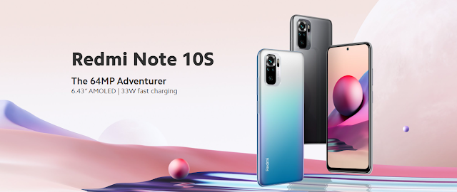 Redmi Note 10S to launch in India on 13th May at 12 Noon - Features and Specs