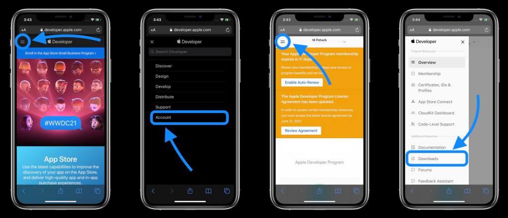 cara-install-ios-15-developer-beta-di-iphone