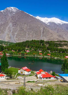 Lower Kachura Lake Skardu