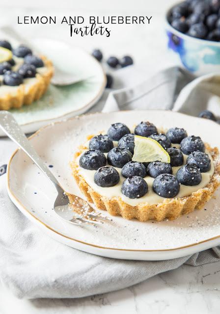 lemon blueberry tartlet recipe