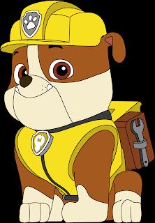 Rubble Patrulha Canina Vetor Grátis Paw Patrol Free Vector Download